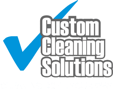 Custom Cleaning Solutions logo white